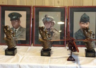 CT Fallen Heroes Busts