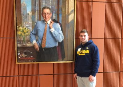 Logan Driscoll at University of Michigan's Stephen M. Ross School of Business